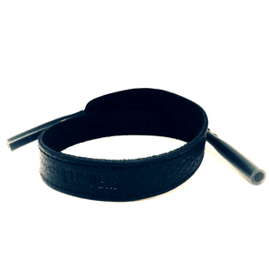 Black leather strap - blindersco
