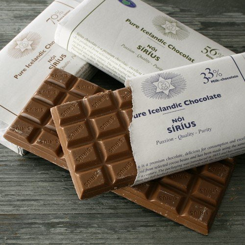 Noi Sirius Icelandic Chocolate Bar - Eat More Cheese