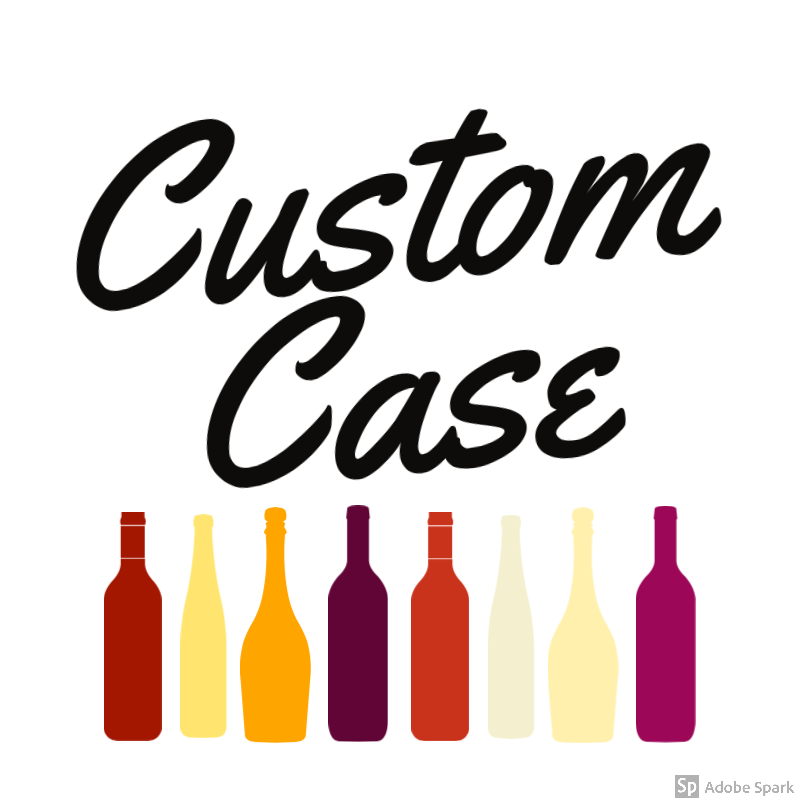 Custom Case of Wine - Eat More Cheese