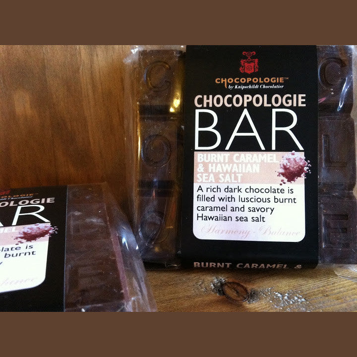 Chocopologie Burnt Caramel & Hawaiian Sea Salt Chocolate