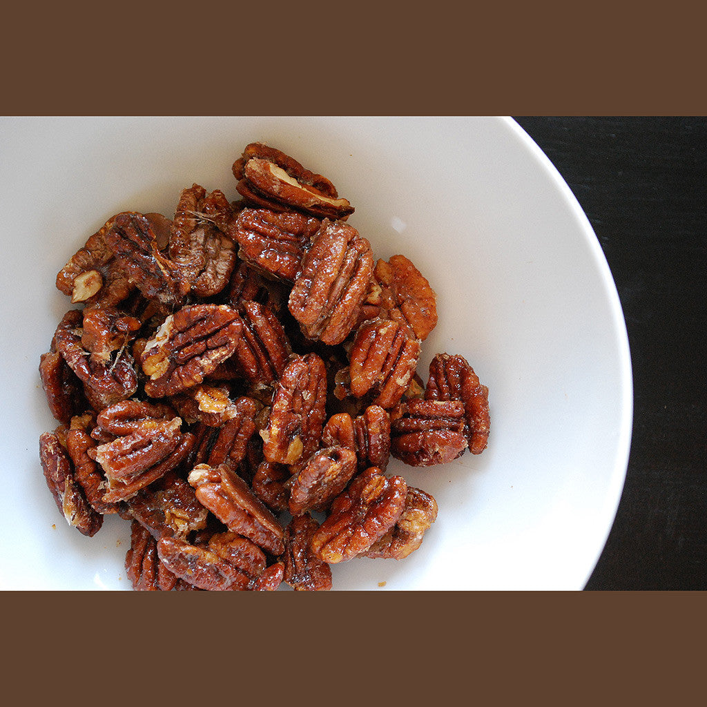 Caramelized Pecans - Eat More Cheese