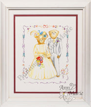 Load image into Gallery viewer, Teddy Bears Wedding Handmade
