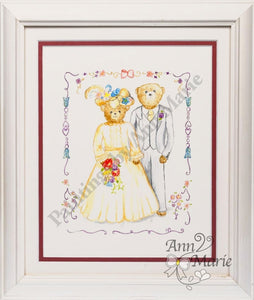 Teddy Bears Wedding Handmade