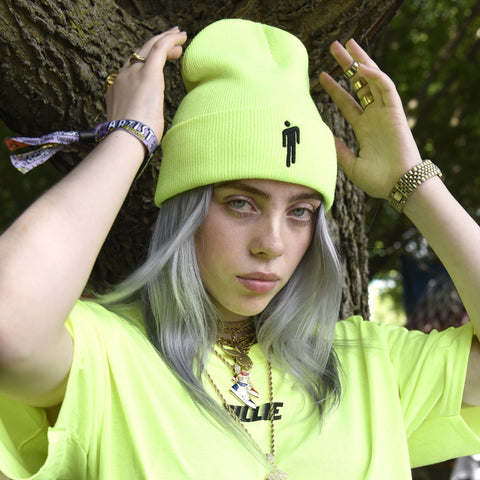 [LIMITED] Billie Eilish t-shirt+ beanie - Amorosa Shop