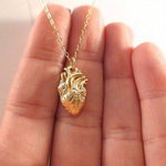 Organ Heart Necklace - Amorosa Shop