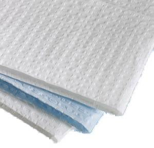 "Tissue-Overall Embossed Towels, 13 1/2"" x 18"", White, 3ply , 500/Box"