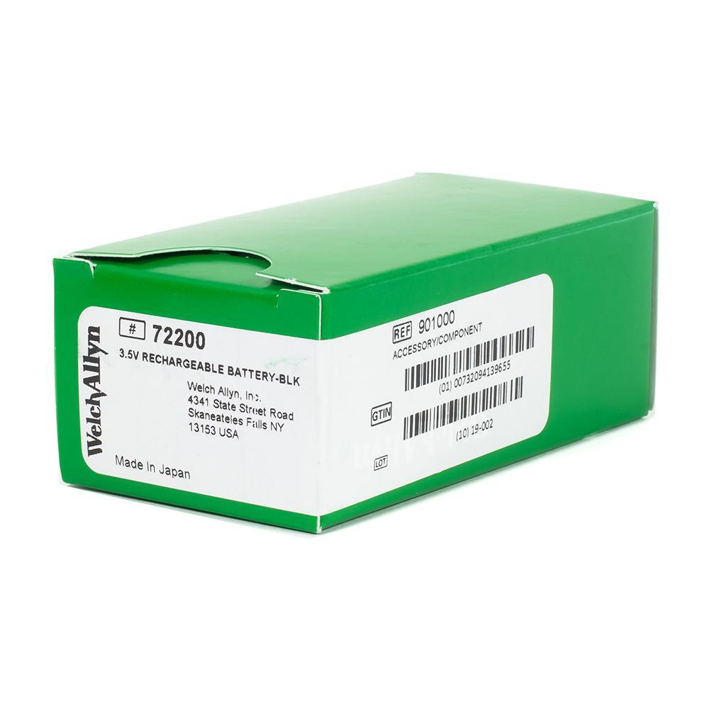 Welch Allyn Rechargeable Battery, 72200, 3.5v