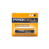 Procell Alkaline Battery AA 4/Pack