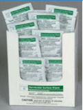 Coverage Plus Germicidal Surface Individual Packed Wipes 50/Box