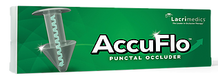 AccuFlo Pre-Loaded Punctal Occluder Medium (0.6mm - 0.7mm) 2/Box