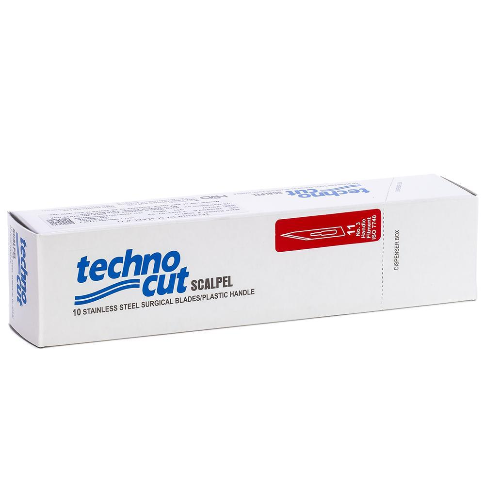 Technocut Disposable Scalpels #11. 10/Box