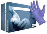 SemperSure Lavender Nitrile Exam Gloves, Large, 200/Box