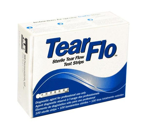 Tear Flo® Test Strips 100/Box