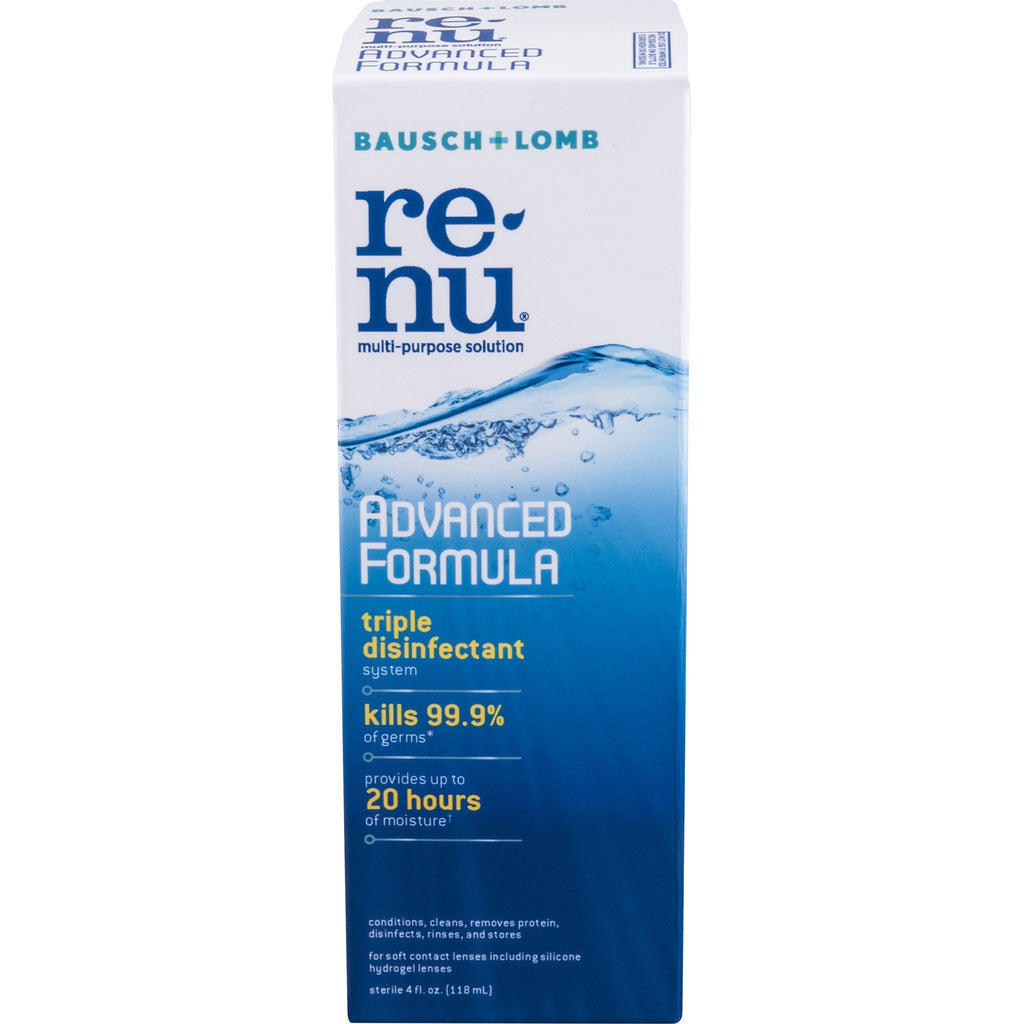Renu Advanced Formula Multipurpose Solution 4 fl oz (118 mL)