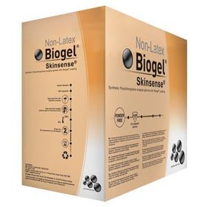 Molnlycke BioGel Skinsense Latex Free Gloves Size 7.5 50/Box