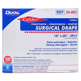 "Dukal Surgical Drapes, 18"" x 26"" Fenestrated, 50/Box"