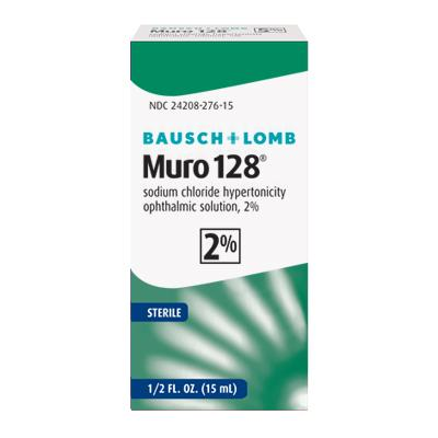 Muro 128® Sodium Chloride 2%, 15ML NDC# 24208-276-15