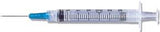 "BD Syringe w/Needle, 3mL, Luer-Lok™ Tip, 25G x 5/8"", 100/Box"
