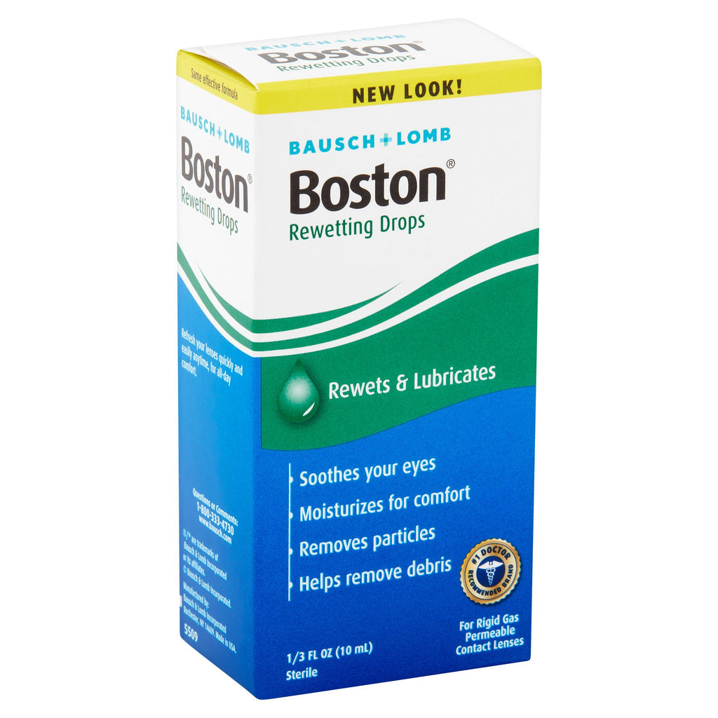 Boston® Rewetting Drops 1/3 fl oz (10 mL)