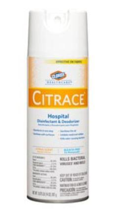Clorox Healthcare Citrace Hospital Germicide 14oz Spray