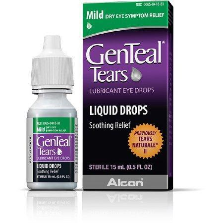 Genteal Tears Mild Lubricant Eye Drops 15 ML