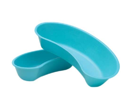 Emesis Basins, Plastic, 700ml, Blue