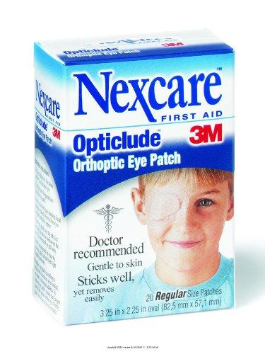3M Nexcare Opticlude Orthoptic Eye Patch Regular. 20/Box
