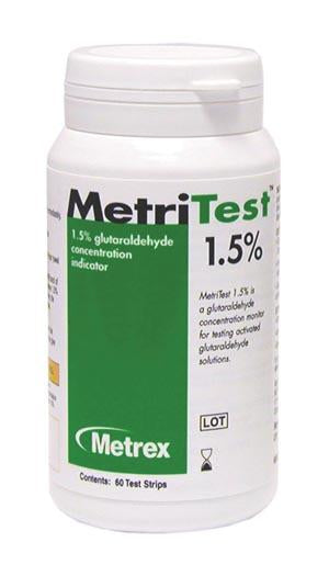 MetriTest Strips 1.5% - 60 strips/bottle