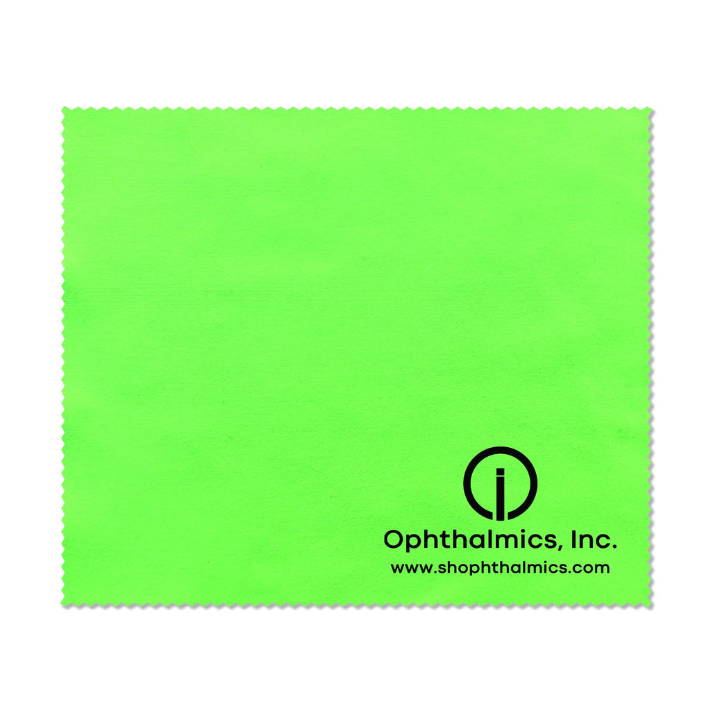 "Silky Microfiber Cleaning Cloth 6"" x 7"", Spring Green"