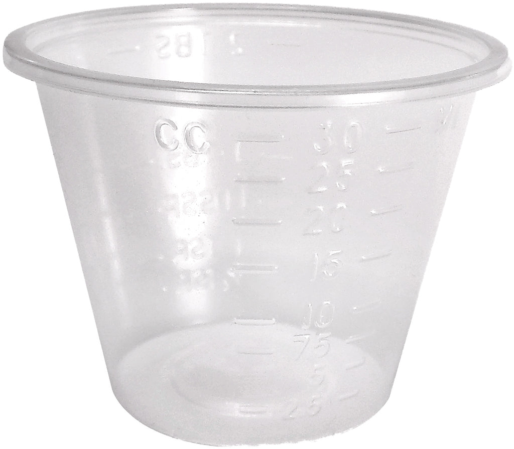 Medicine Cups, 1oz Disposable 100/Sleeve