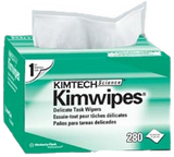 KimWipes EX-L Delicate Task Wipers, Disposable, Popup Box, 4 1/2