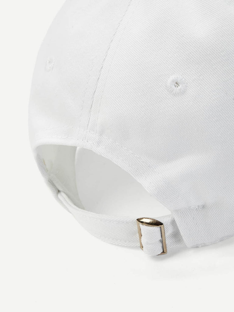 Shein | Men Letter Embroidery Baseball Cap - Yashry