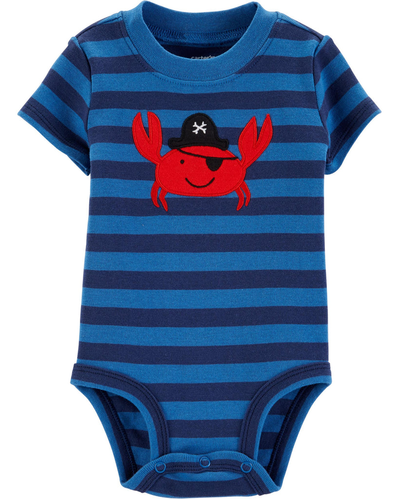 Carter's | Pirate Crab Collectible Bodysuit - Yashry