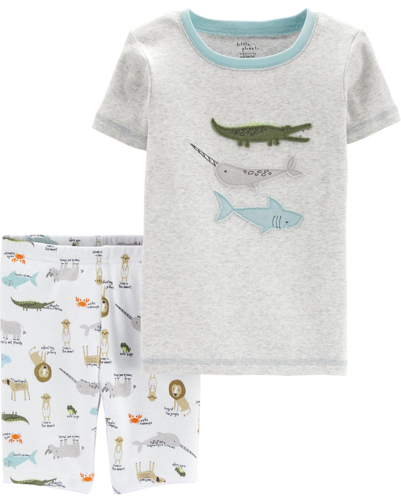 Carter's | 2-Piece Certified Organic Cotton Snug Fit PJs - Yashry