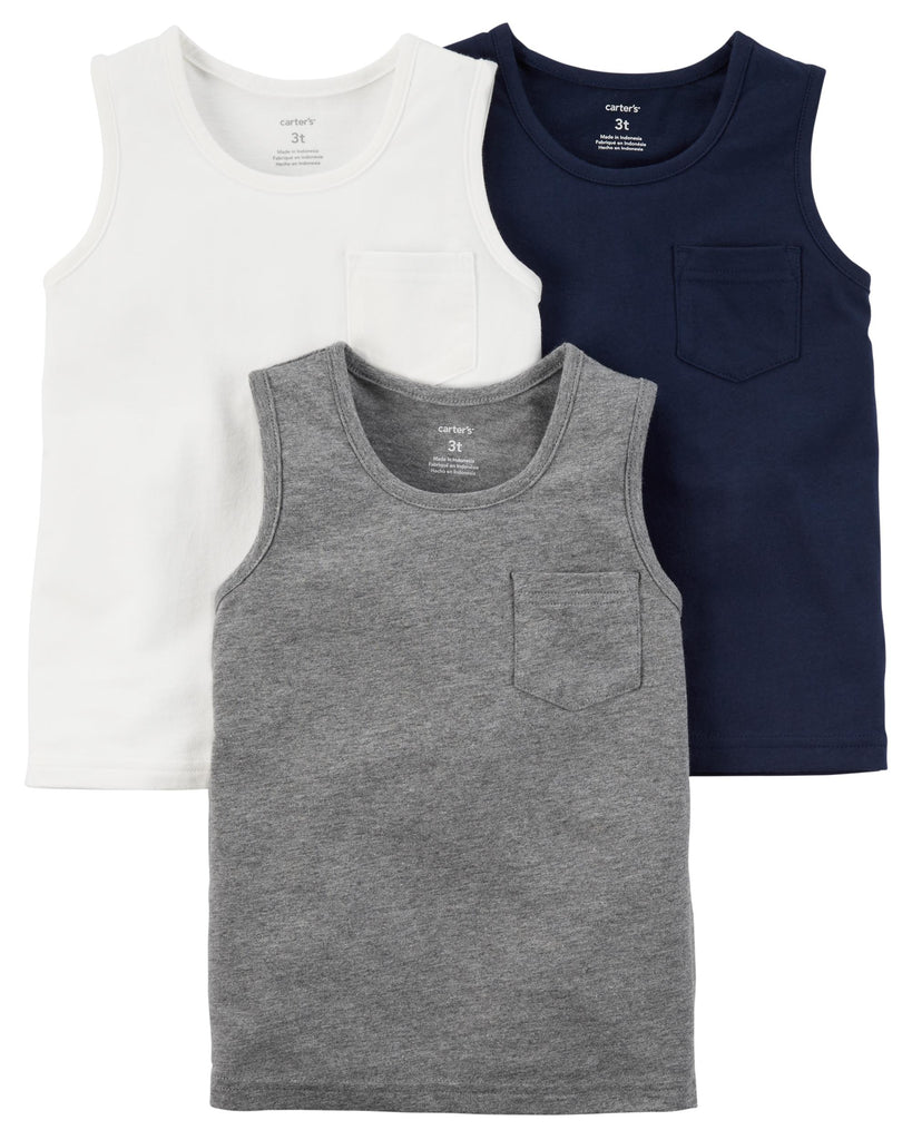 Carter's | 3-Pack Tanks - Yashry