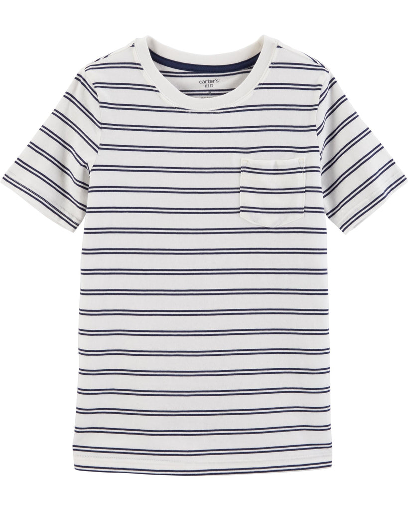 Carter's | Striped Pocket Tee - Yashry