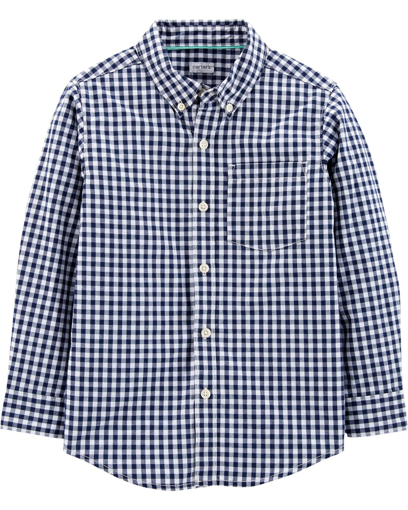 Carter's | Oxford Button-Front Shirt - Yashry