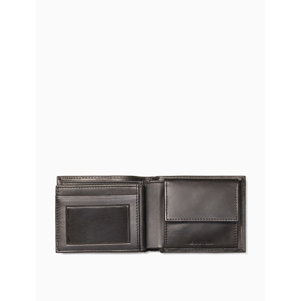 Calvin Klein | Marbled Leather Aviator Wallet - Yashry