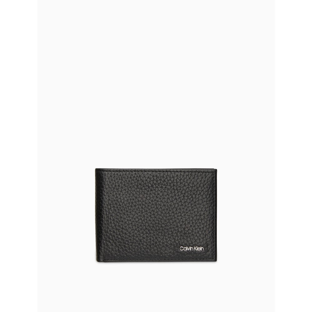Calvin Klein | Pebble Leather Slimfold Wallet - Yashry