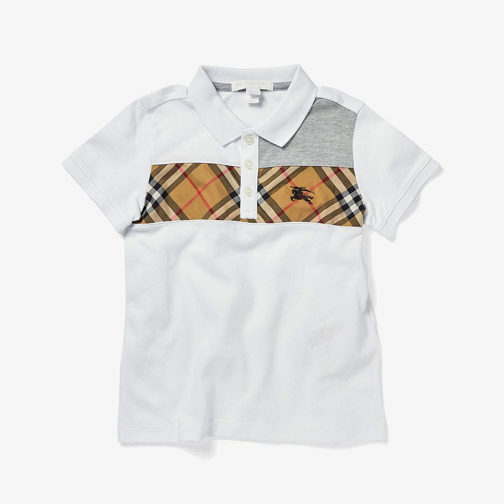 Burberry Kids Jeff Top (Little Kids/Big Kids) - Yashry