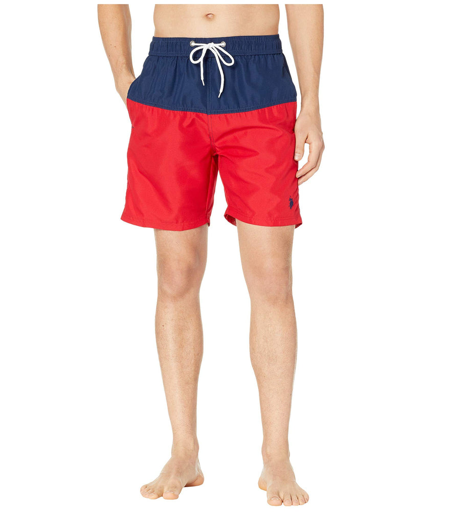 U.S. POLO ASSN. | Color Block Swim Shorts - Yashry