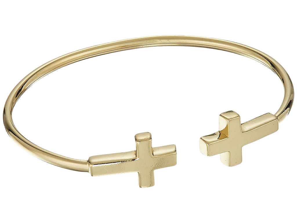 Alex and Ani | Cross Cuff Bracelet - Yashry