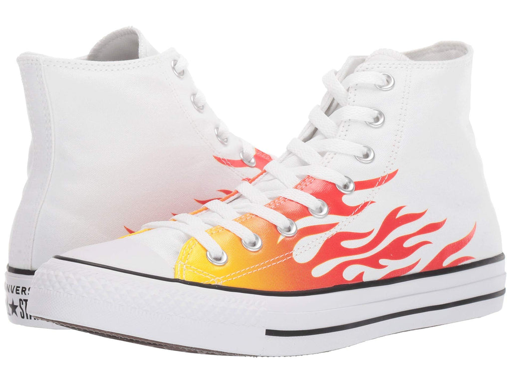 Converse | Chuck Taylor All Star Canvas Archive Flame Print - Hi - Yashry