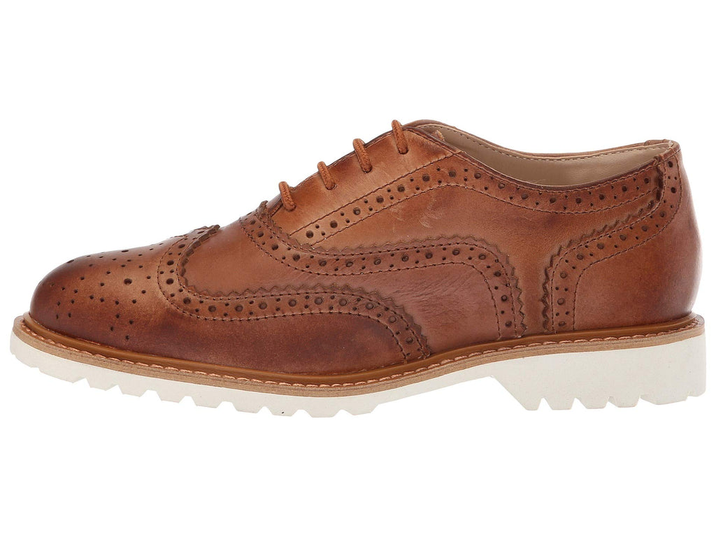 Kenneth Cole Reaction Kids | Wing Brogue Leather (Little Kid/Big Kid) - Yashry
