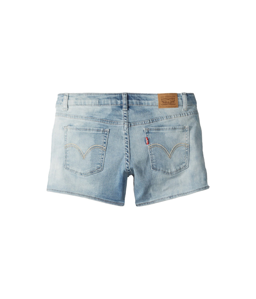 Levi's® Kids Best Coast Denim Shorty Shorts (Big Kids) - Yashry