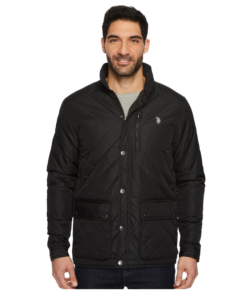 U.S. POLO ASSN. | Diamond Quilted Jacket - Yashry