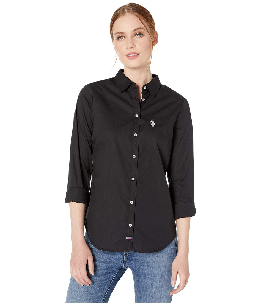 U.S. POLO ASSN. | Long Sleeve Solid Woven Shirt - Yashry