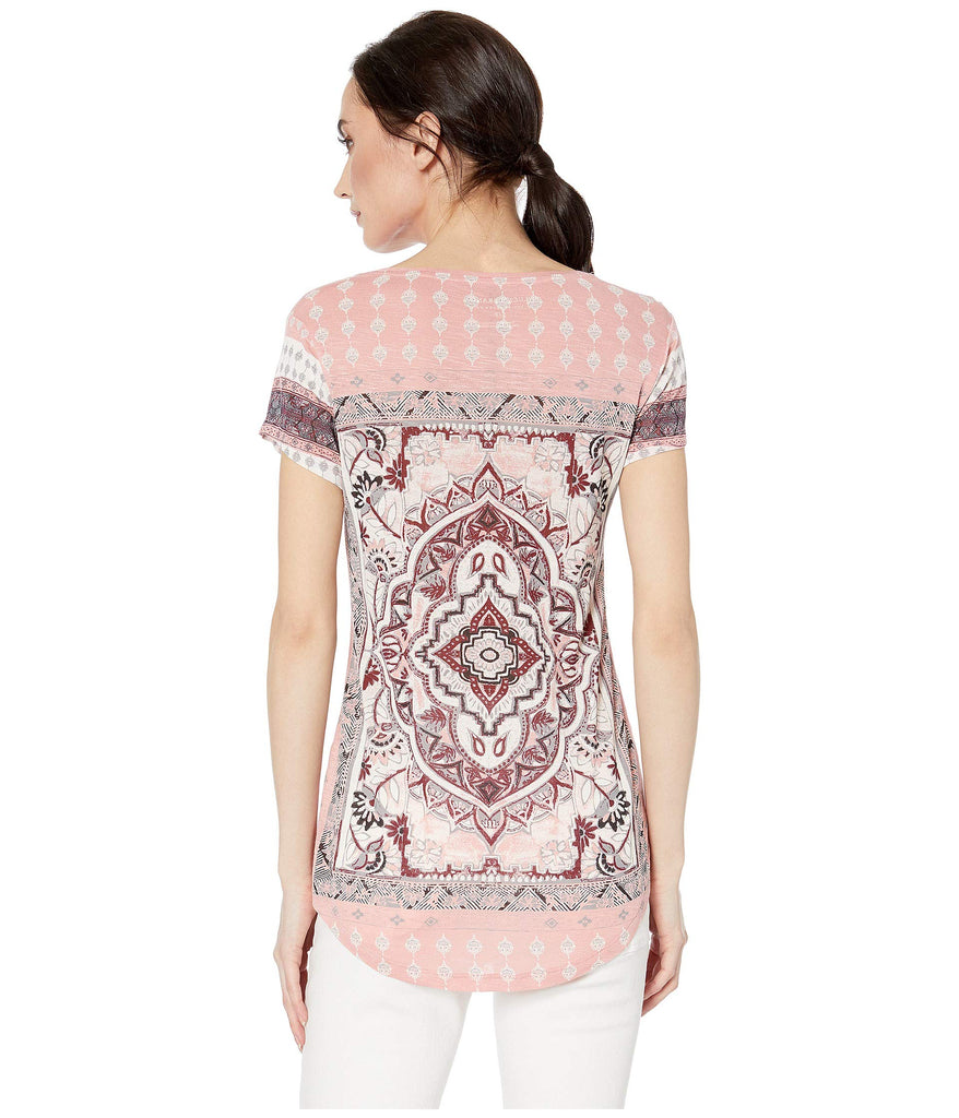 Lucky Brand Persian Carpet Tee - Yashry