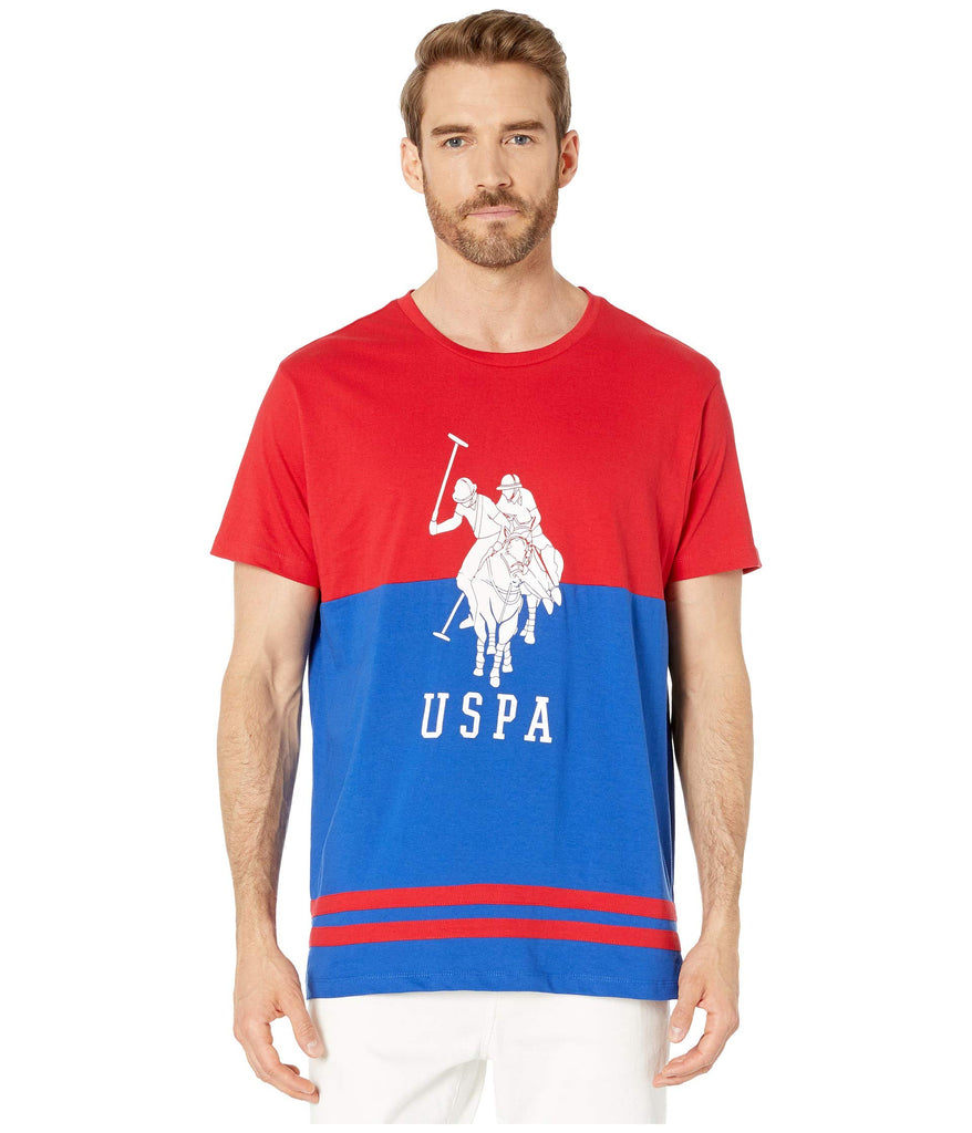 U.S. POLO ASSN. | USPA Chest Two-Tone Tee - Yashry