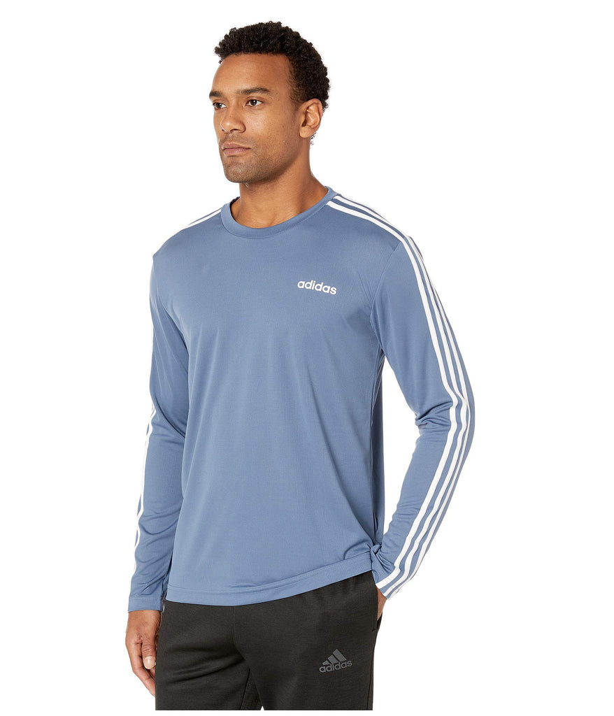 adidas | Designed-2-Move 3-Stripe Long Sleeve Tee - Yashry